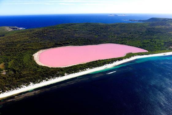 Jezero Hilier Australija