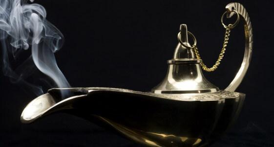 carobna lampa