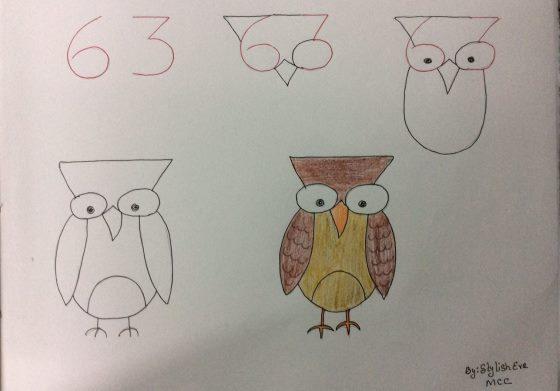 Crtanje Za Početnike Pomoću Brojeva Korak Po Korak Duhoviti