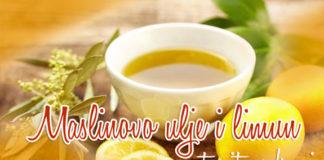 maslinovo ulje limun