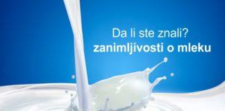 zanimljivosti mleko