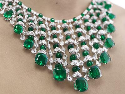 ogrlica smaragd