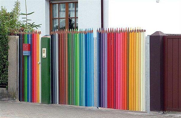 10 sarena ograda