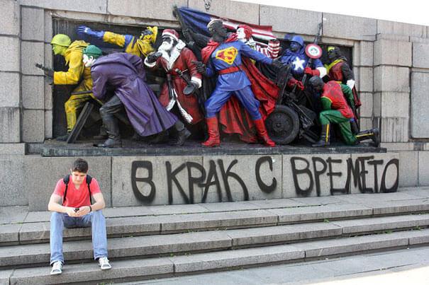 5 maskenbal superheroja