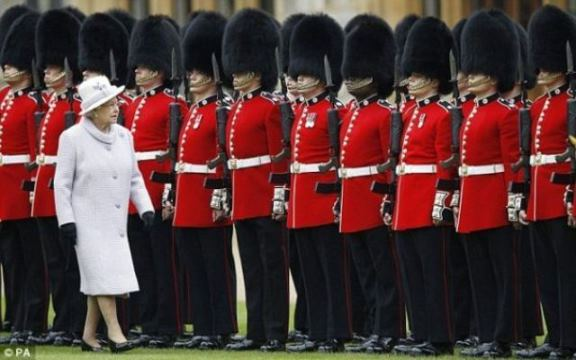 britanskagarda uniforme