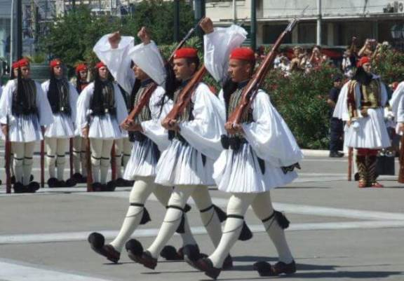 grckivojnici uniforme