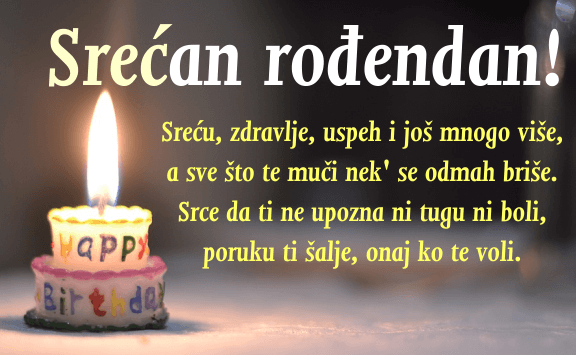 Srećan rođendan čestitke