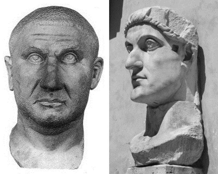 Borba za carski presto Konstantin i Licinije (foto: wikimedia)