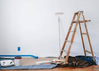 renoviranje-krečenje-stan-merdevine